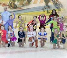 Новый учебный год в школе фигурного катания «Хрустальный конек»