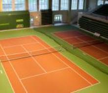 Корт для большого тенниса в Казанской Академии тенниса