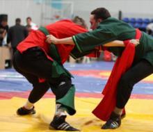 В столице Татарстана соревновались студенты-борцы