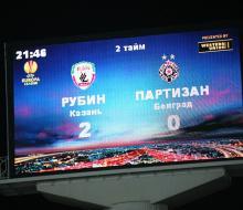 Партизаны в Казани — матч «Партизан»-«Рубин»