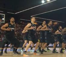Баскетболисты Новой Зеландии танцем устрашили звезд НБА