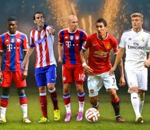 УЕФА представил сборную 2014 года