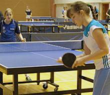 В Татарстане прошли соревнования по настольному теннису