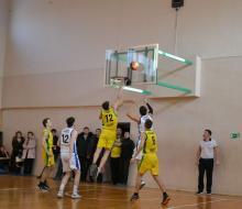 Финал чемпионата школьной лиги «Кэс-Баскет»