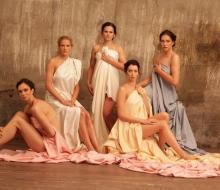 Девушки из сборной России по волейболу снялись для журнала OK!