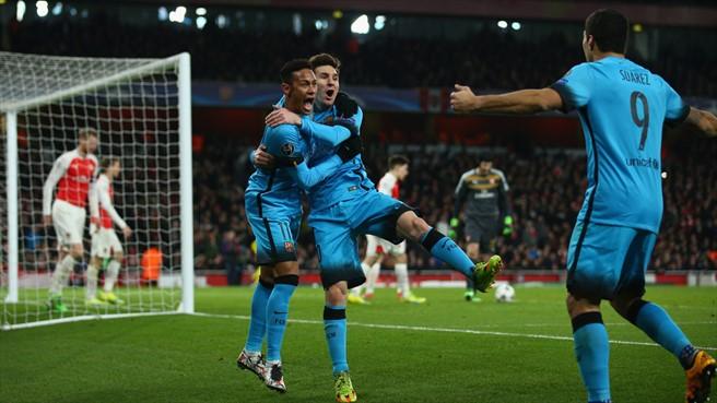 Месси: Знали, что «Арсенал» несправится снашим давлением