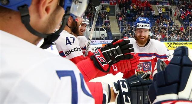 Чехия гарантировала себе победу в группе Россия поборется за второе место