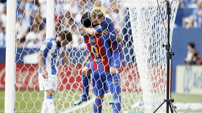 Чемпионат Испании. «Леганес»— «Барселона» 1:5. Прилетело за«Алавес»