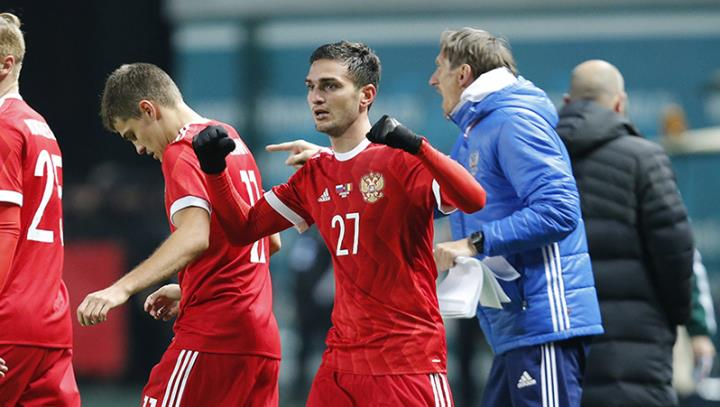 Ингушский футболист забил румынам гол наглазах уРамзана Кадырова