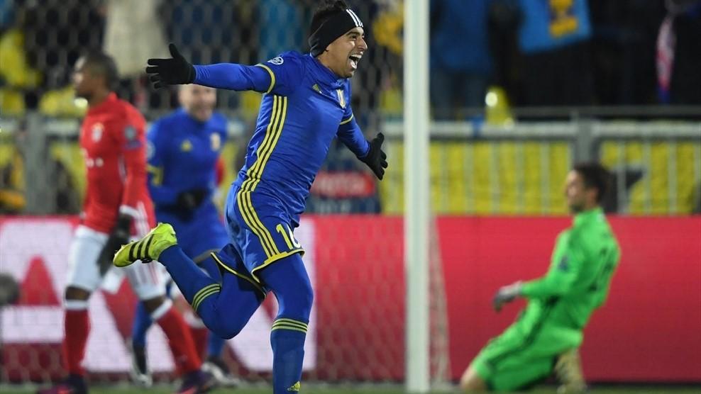 «Ростов» обыграл немецкую «Баварию» вматче Лиги чемпионов