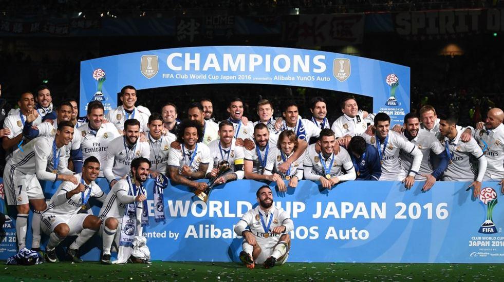 Мадридский «Реал» одержал победу клубный чемпионат мира пофутболу