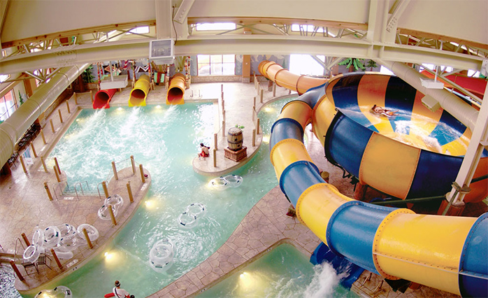 Отель Great Wolf Lodge Niagara Falls (Онтарио, Канада)