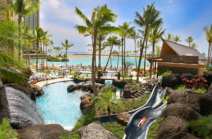 Hilton Hotel Hawaiian Village (Гонолулу, США)