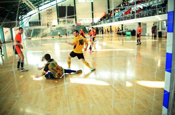 Сборная Татарстана попала в плей-офф турнира по мини-футболу