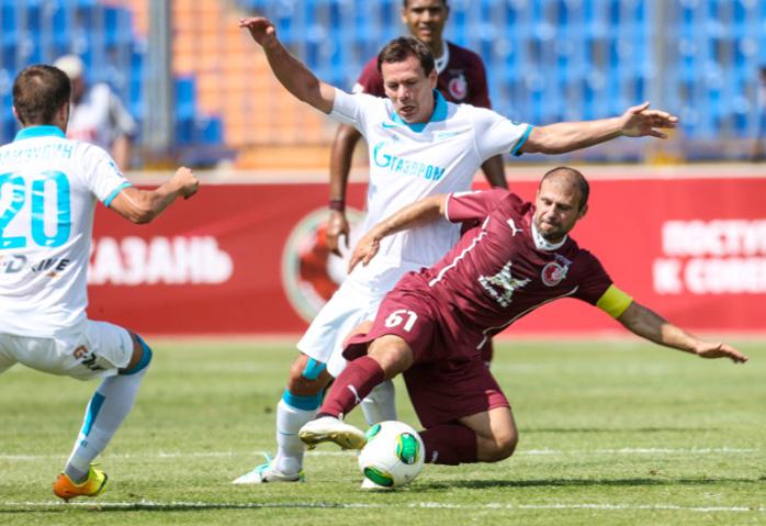 Гекдениз Карадениз, капитан и просто лучший игрок в матче против «Зенита»