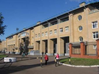 Фитнес-клуб на стадионе «Трудовые резервы»